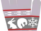 遊部屋十和田 様   オリジナル スマホ手袋